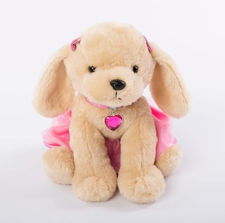 Ballerina Petal Puppy Plush Toy