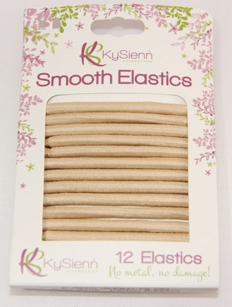 Accessory - Smooth Hair Ties - 12 Pack