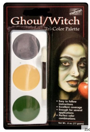 Cosmetics - Mehron - Tri Colour Palette