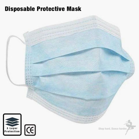 Disposable Protective Masks - 5 pack inc delivery