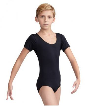 Leotard - 10390BC - Tactel Short Sleeve Leotard