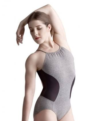 Leotard - 10685W - Halter Strappy Backless Leotard