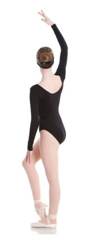 AL03 - Long Sleeve Scoop Leotard
