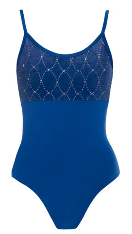 AL49 - Diamond Detail Camisole Leotard