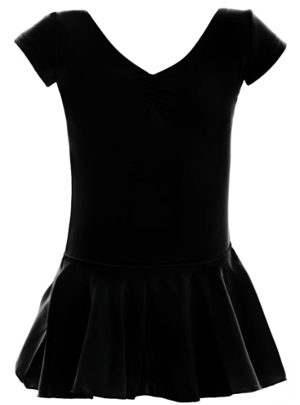 Leotard - CL07 - Cap Sleeve Leotard With Skirt