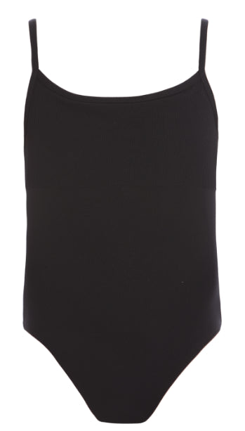 Leotard - CL18 - Ribbed Detail Camisole Leotard