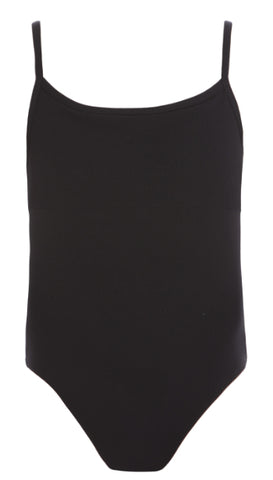 CL18 - Ribbed Detail Camisole Leotard