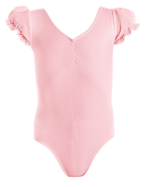 Leotard - CL58 - Crystal Puff Sleeve Leotard