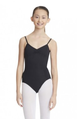 Leotard - MC100 - Adjustable Camisole Leotard W/ Pinch Front