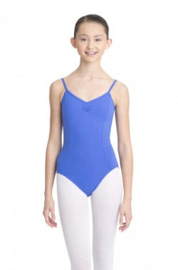Leotard - MC100C - Adjustable Camisole Leotard W/ Pinch Front