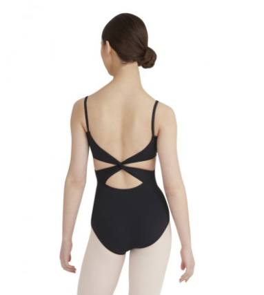 Leotard - MC102C - Camisole Leotard With Twist Back