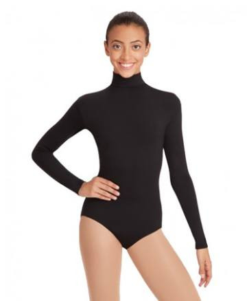 TB41 - Turtleneck Long Sleeve Leotard