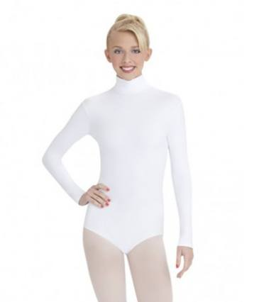 Leotard - TB41 - Turtleneck Long Sleeve Leotard