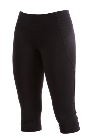 Pants - AT63 - Panelled Capri Tight