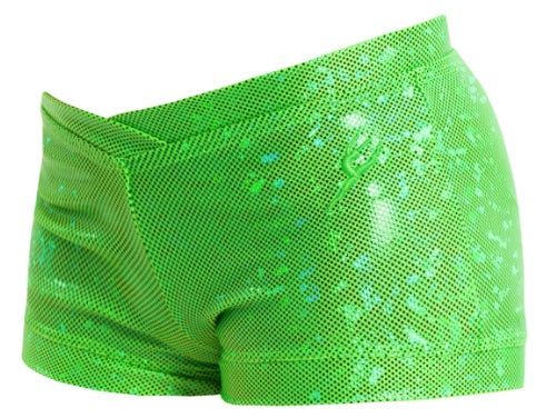 Pants - GCT73 - 'Shattered Glass' Cross Band Boy Leg