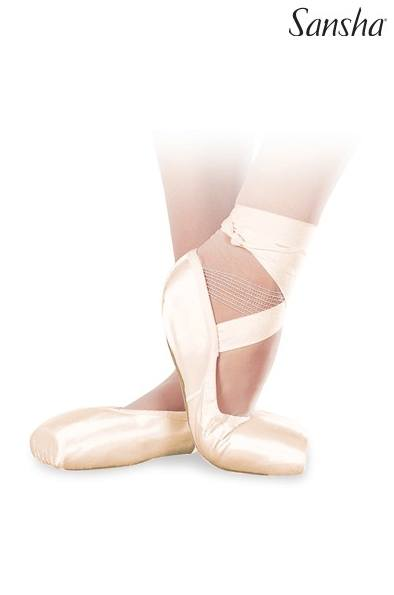 Shoe - DP802 - Sansha Demi-Pointe Shoe