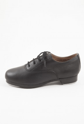 Leather Lace Up Oxford Tap Shoe