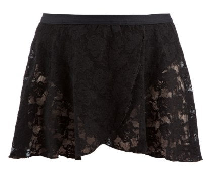Skirt - AS37 - Mock Wrap Lace Skirt