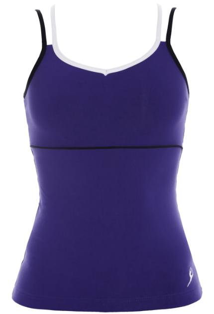 Top - AC10 - Double Strap Singlet