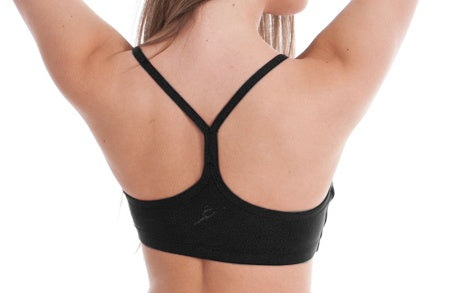 Top - AC56 - Racer Back Crop Top
