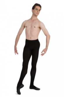 MT11 - Men's Knit Footed Tight w/ Back Seam