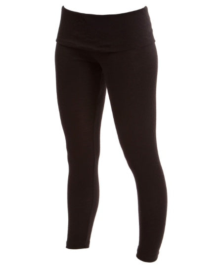 Warm Up - MAWL08 - Merino Wool Roll Top Legging