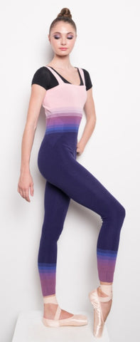 Ombré Sleeveless Unitard