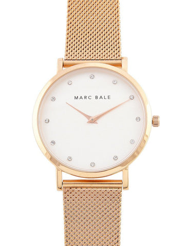 Rose Gold Crystal - Rose Gold Mesh