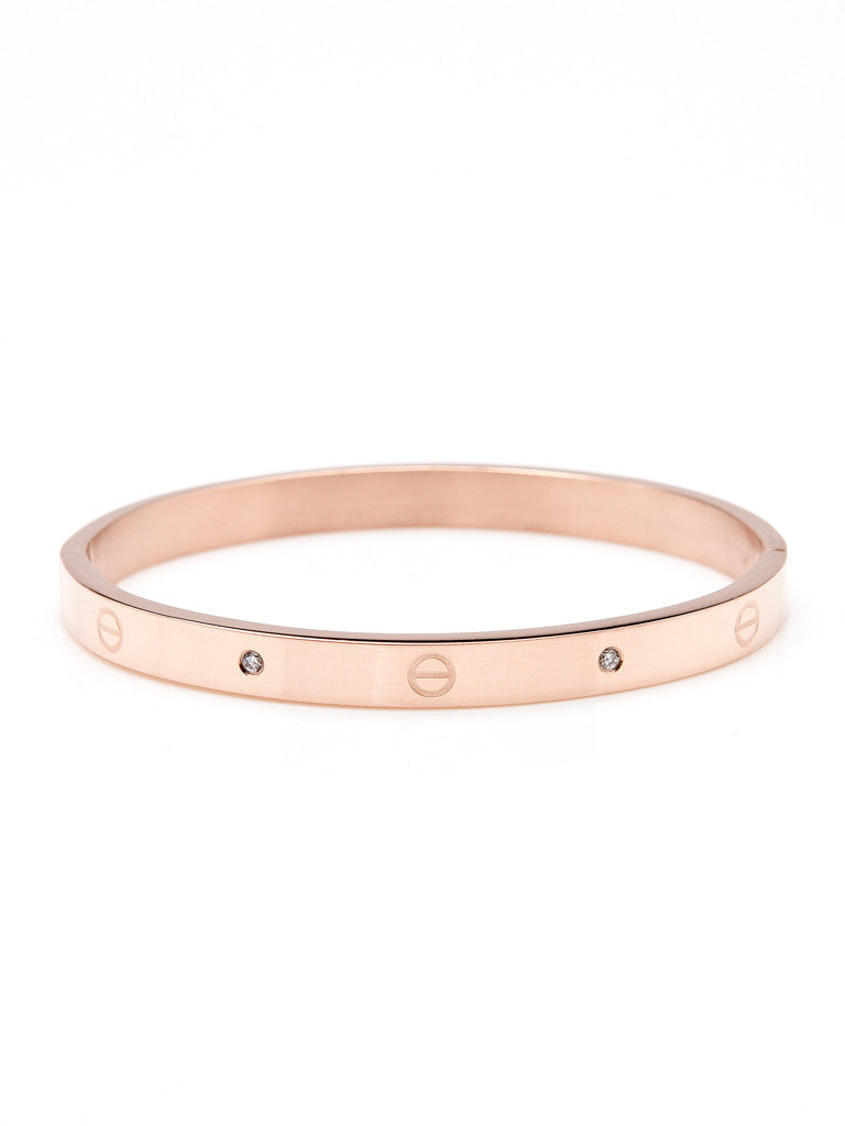 Urban Hardware Bangle - Rose Gold