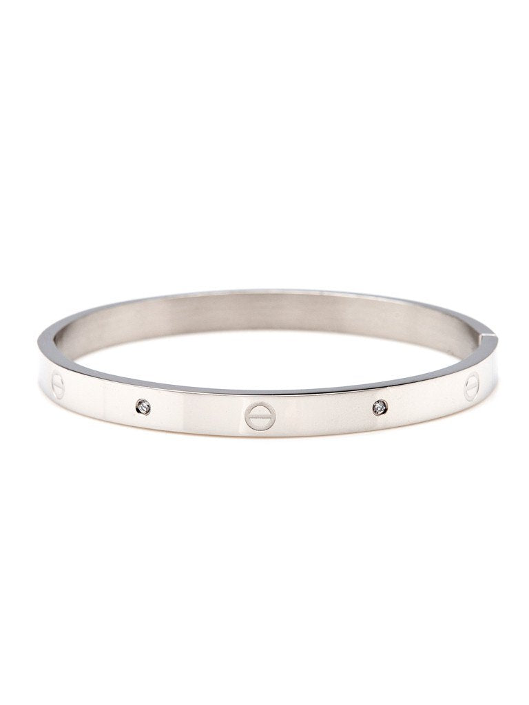 Urban Hardware Bangle - Silver