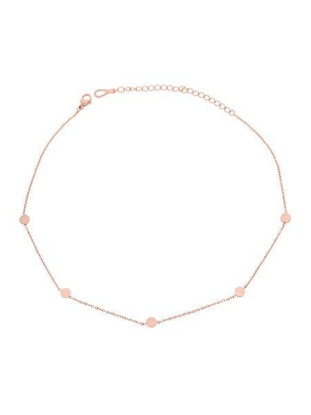 Dainty Dot Choker - Rose Gold