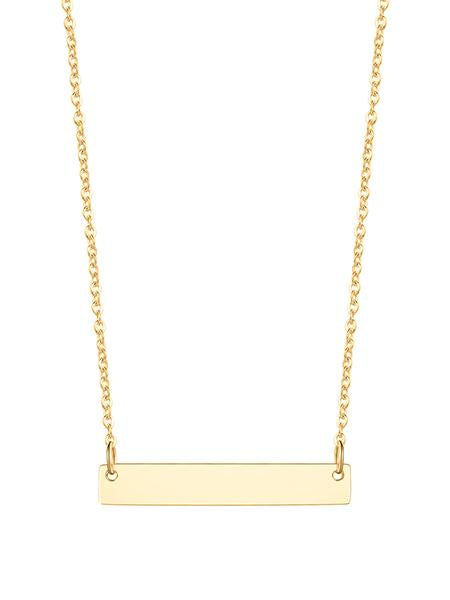 Cleo Bar Necklace - Gold