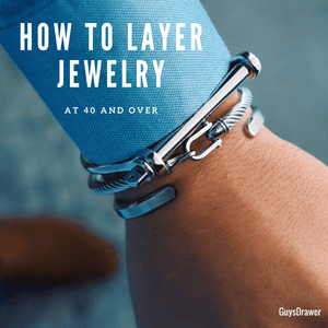 How to Layer Jewelry at 40 and over