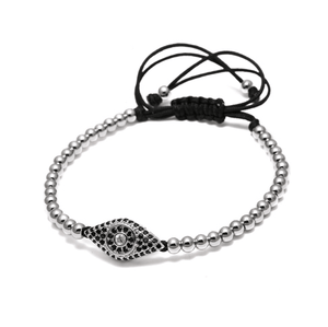 Evil Eye Lace Up Bracelets - More Styles Available