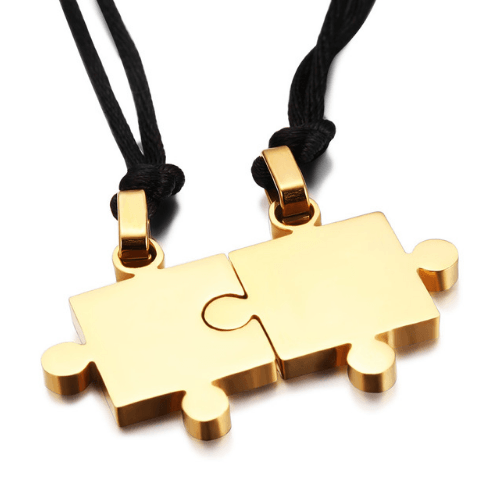 Jigsaw Necklaces - More Styles Available