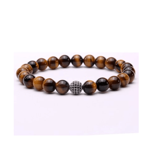 Tiger Eye Disco Ball Bracelets
