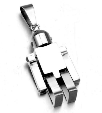 Robot Necklaces - More Styles Available