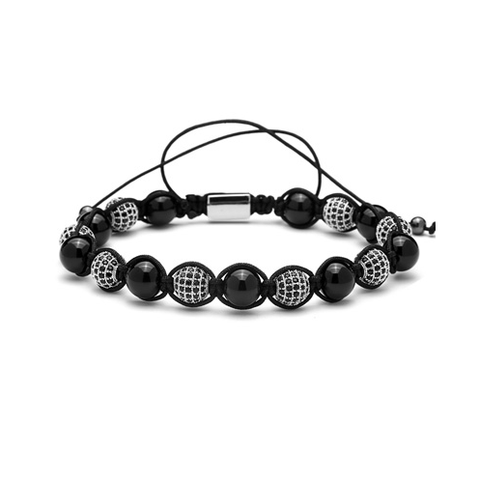 Disco Ball Macrame Braided Bracelets - More Styles Available