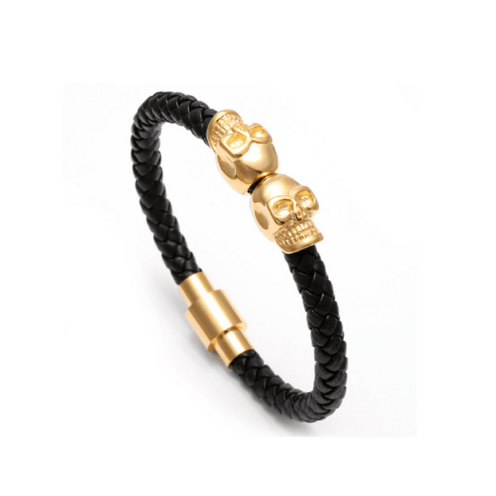 Double Skull Bracelets - More Colours Available