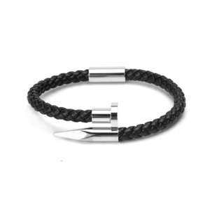 Leather Nail Bracelets - More Styles Available