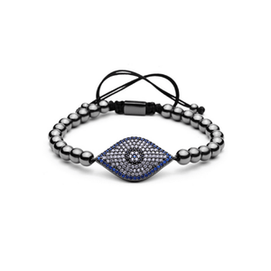 Turkish Blue Evil Eye Lace Up Bracelets - More Styles Available