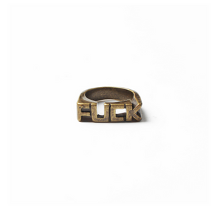 F U C K ring - More Styles Available