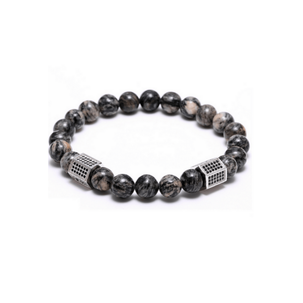 Agate Stone Cylinder Bracelets - More Styles Available