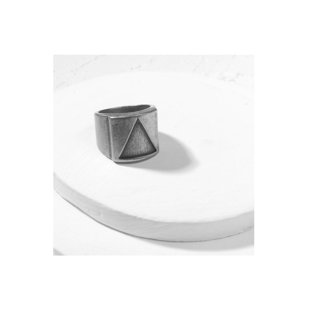 Closed Geo Tri Ring - More Styles Available