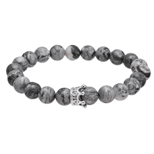 Jasper Beads Crown Bracelets - More Styles Available
