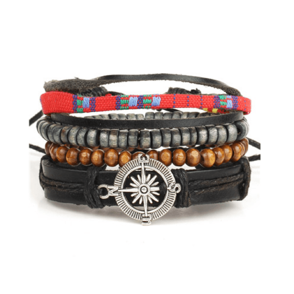 Leather and Braided Bracelet Sets