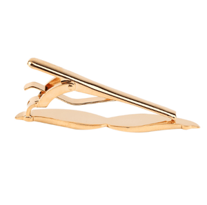 Mustache Tie Clips - Gold/Silver - GuysDrawer.com - 6