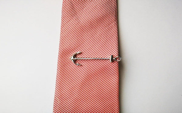 Anchor Tie Clips - Gold/ Silver - GuysDrawer.com - 3