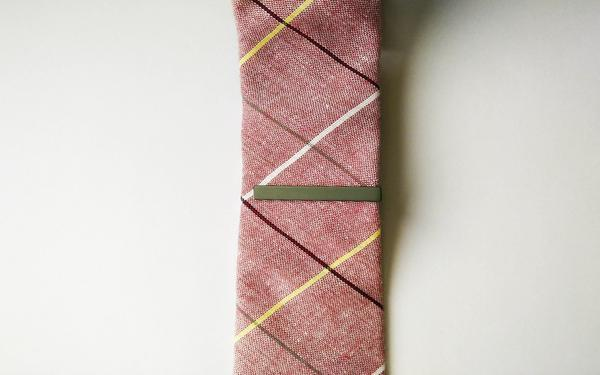 Solid Colour Tie Bars - Many Colours Available - GuysDrawer.com - 13