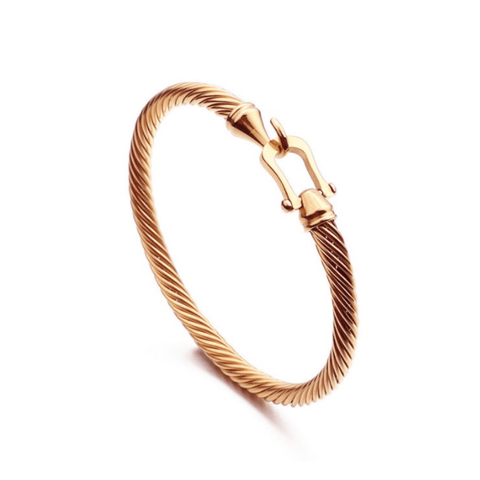 Hook Twist Bangle - More Styles Available
